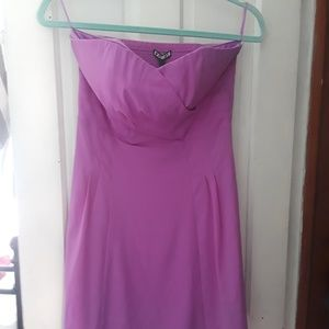 Express beautiful silk mini dress, size 6